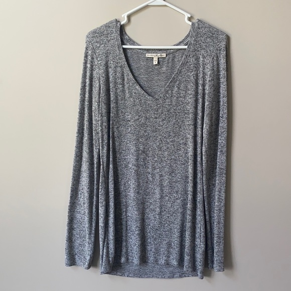 Express one eleven long sleeve tunic top